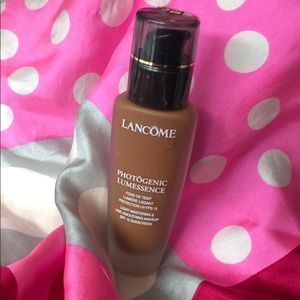Lancome Suede 4 C Photogenic Lumessance foundation